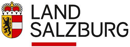 Offizielles Logo des Landes Salzburg weiss unterlegt
